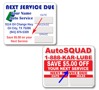 Free Oil Change Coupon Template from www.oil-change-sticker.com